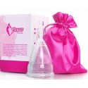 Менструальная чаша (капа) S, Aneer оригинал с мешочком для хранения