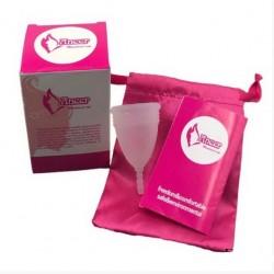 Менструальная чаша (капа) L, Aneer оригинал с мешочком для хранения